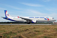 VQ-BOB - A321 - Ural Airlines