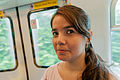 User Beria in Wikimania Hong Kong 2013.jpg