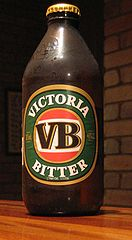 Victoria Bitter by https://commons.wikimedia.org/wiki/User:Swarve
