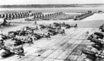 VMF-321 F4Us at MCAS Cherry Point 1948.jpg