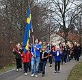 Valborg 2010 fackeltåg torchlight procession Västerhaninge (4567025605).jpg
