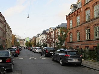 Valdemarsgade - The northern end of Valdemarsgade with Vesterbrogade in the background