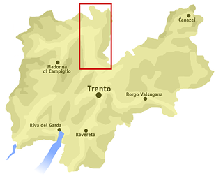 Non Valley valley in northern Italy