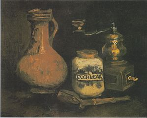 Still life with a Bearded-Man Jar