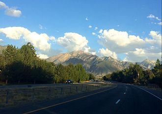 Utah State Route 152 - Van Winkle Expressway traveling east approaching 1300 E