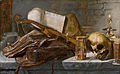 Vanitas still life, attributed to Jan Lievens.jpg