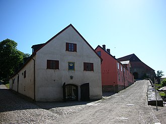 Varberg Fortress - Charles XI's Stable, situated inside the fortress.