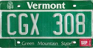 Vehicle registration plates of Vermont Vermont vehicle license plates