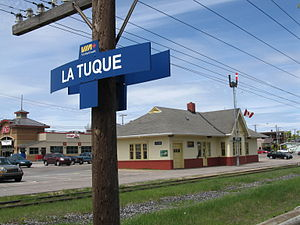 La Tuque, Quebec - La Tuque Railroad Station