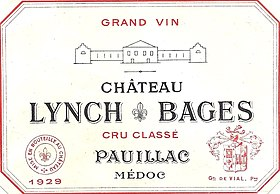 Image illustrative de l'article Château Lynch-Bages