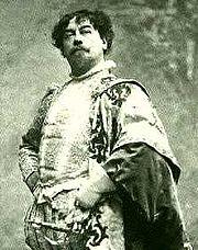 French baritone Victor Maurel (1848-1923)