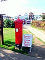 Victorian postbox at Sheringham - geograph.org.uk - 745424.jpg
