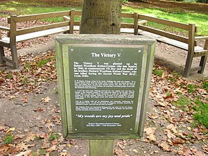 R. W. Ketton-Cremer - The Victory V plaque