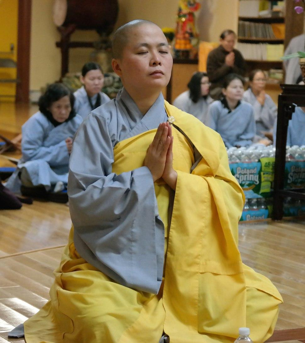 Vietnamese Buddhist Nun