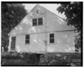 View north, south (side) elevation - Blakeslee House, 1211 Barnes Road, Wallingford, New Haven County, CT HABS CONN,5-WALF,7-2.tif