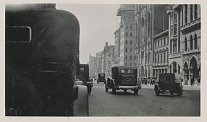 Collins Street, Melbourne - Undated view of Collins Street