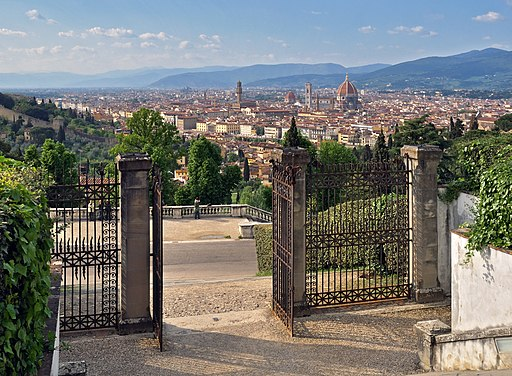 View of Florence from the Abbazia di San Miniato al Monte