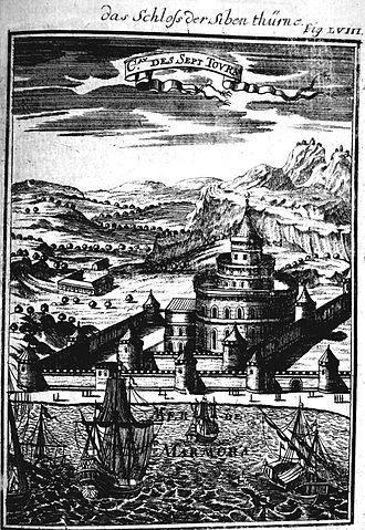 Simon I of Kartli - The Fortress of the Seven Towers, where Simon died around  1611.
