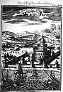 View of the Castle of Seven Towers, Description de L'Universe (Alain Manesson Mallet, 1685).jpg