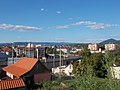 View to NE from Military Memorial Park in Eger, 2016 Hungary.jpg