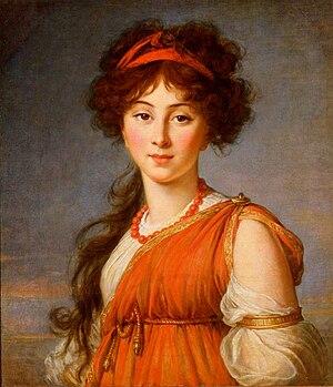 Columbus Museum of Art - Image: Vigée Lebrun, Elisabeth Varvara Naryshkina