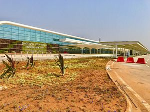 Vijayawada International Airport - Image: Vijayawad Airport new Terminal