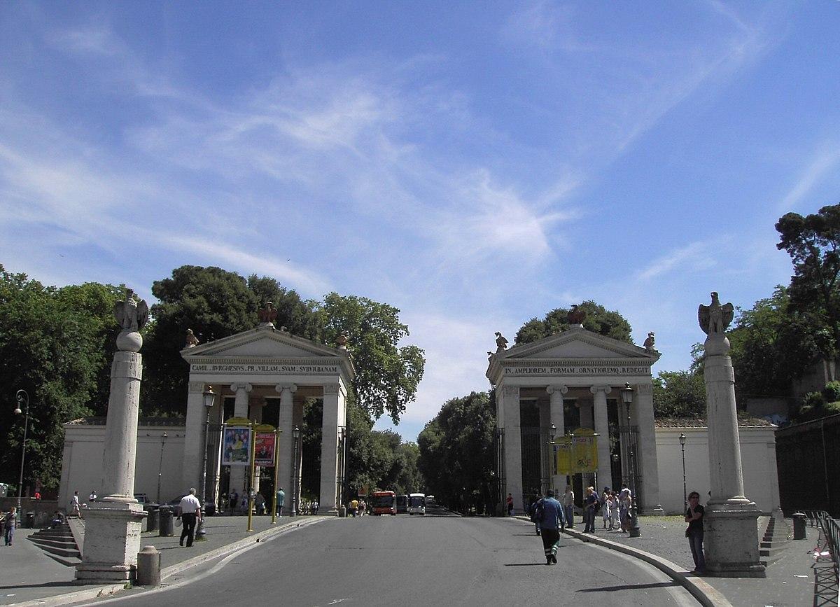Villa Borghese - Wikipedia, la enciclopedia libre