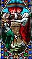Villeréal - Église Notre-Dame - Vitrail de l'histoire de Noé -5.jpg