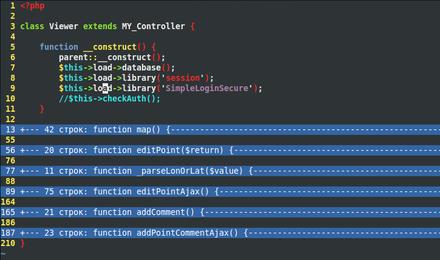 Code folding - Wikipedia