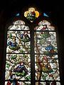 Vineuil-Saint-Firmin (60), église Saint-Firmin, verrière n° 2 - arbre de Jessé 2.JPG