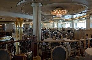 MS Adventure of the Seas - Image: Vivaldi Dining Room 2