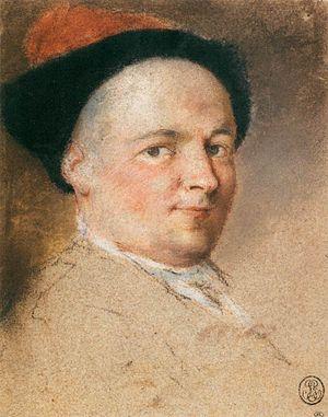 Nicolas Vleughels - Self-Portrait
