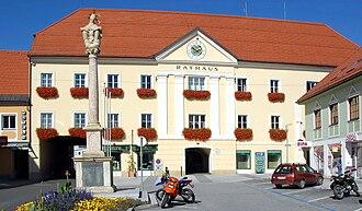 Völkermarkt - Town hall