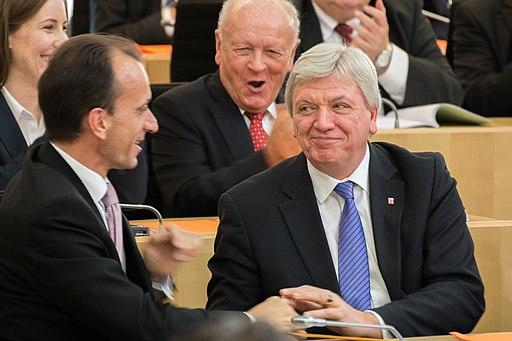 Volker Bouffier nach der Wahl zum Ministerpräsident 2014