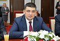 Volodymyr Groysman Senate of Poland 2015.JPG