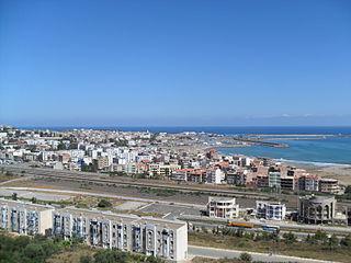 Jijel City in Jijel Province, Algeria