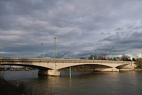 Pont de suresnes wikip dia for Bois de boulogne piscine