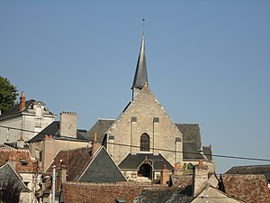 Reugny, Indre-et-Loire - The church in Reugny