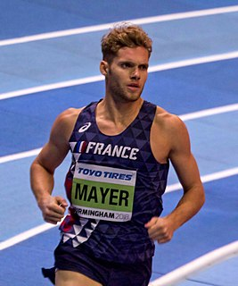 Kevin Mayer French decathlete