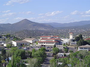 Western New Mexico University main campus in S...