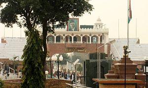 Wagah - Image: Wagah Border INDO PAKISTANBORDER2013 06