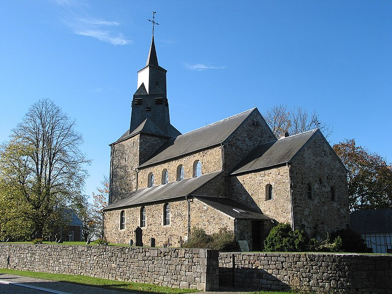 Waha (Belgium), St. Stephen's church (1050).