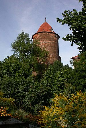 County of Dannenberg - Valdemar Tower in Dannenberg, the only preserved part of the county castle
