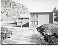 Wall construction and footings for the employee parking area at the rear of Mission 66 Visitor Center and Museum. ; ZION Museum (f72a64473e884dc9b6d066cccf1019ec).jpg