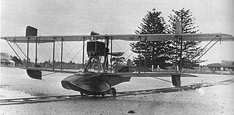 Royal New Zealand Air Force - The locally designed Walsh type D pilot training 'boat of 1918