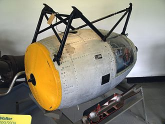 Walter HWK 109-500 - HWK 109-500 on display at the Royal Air Force Museum Cosford
