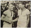 Walter Hoover congratulated by Jack Beresford.jpg
