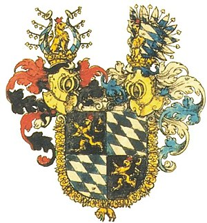 Coat of arms of Bavaria - Image: Wappen Bayern 1703