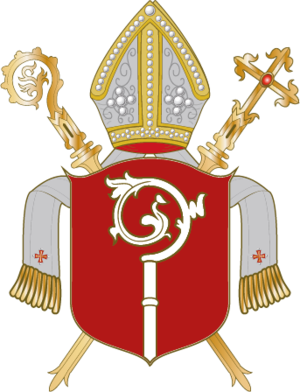 Roman Catholic Diocese of Eichstätt - Image: Wappen Bistum Eichstätt