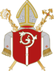 Coat of arms of the diocese of Eichstätt